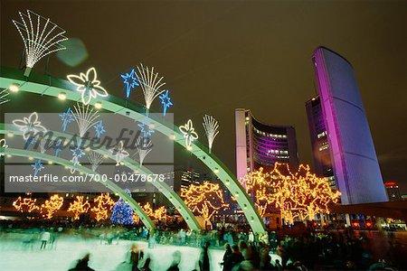 Nathan Philips Square, Toronto, Ontario, Kanada