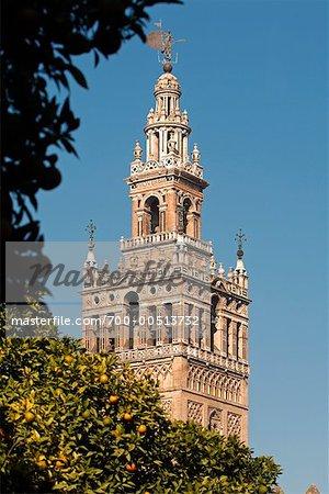 Cathédrale de Séville, Séville, Espagne