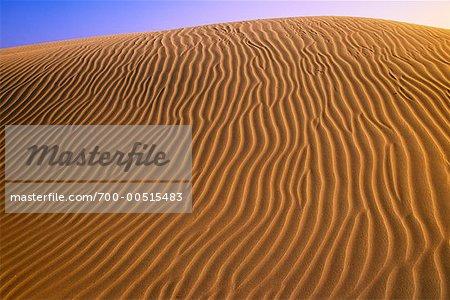 Sand Dunes, Death Valley, Californie, USA