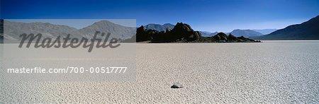 Course du diable, la Death Valley, Californie, USA
