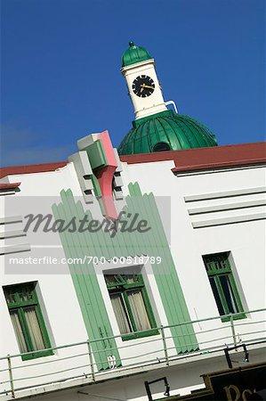 Hôtel maçonnique, Napier, Bay, Nouvelle-Zélande Hawke