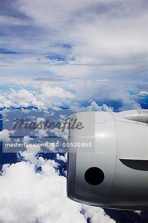 Singapore Airlines Jet Engine