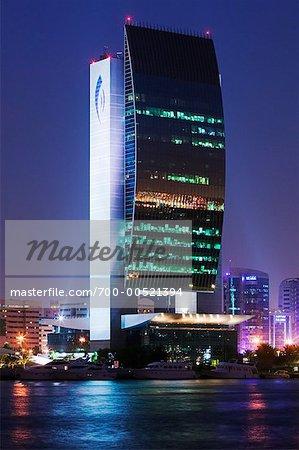 Banque nationale de construction de Dubaï, Dubaï, Émirats Arabes Unis