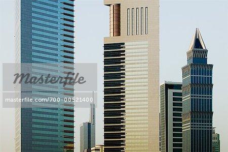 Highrise Buildings, Dubai, United Arab Emirates