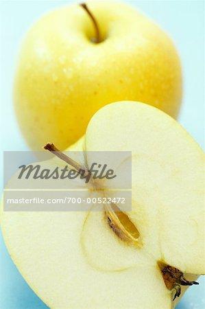 Gros plan d'Apple