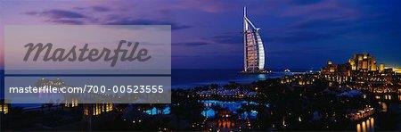 Burj al Arab Hotel and Madinat Jumeirah Resort, Dubai, United Arab Emirates