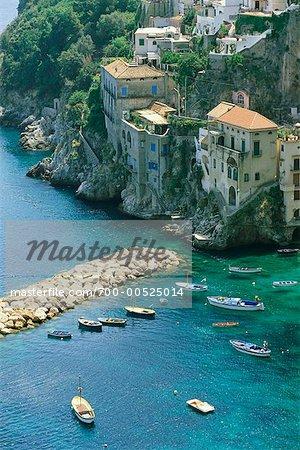 Conca dei Marini, Salerne, Amalfi, Italie