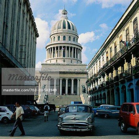 El Capitolio, la Havane, Cuba