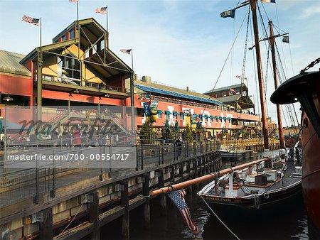 South Street Seaport, New York City, New York, USA