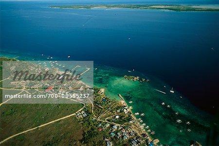 Aerial View of Mactan Island, Philippines