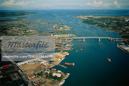 Aerial View of City, Cebu City, Philippines