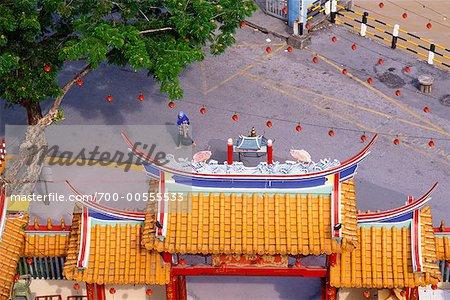 Tua Pek Kong Temple, Sibu, Sarawak, à Bornéo, Malaisie