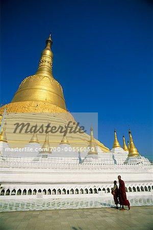 Pagode Shwemawdaw, Bago, Myanmar