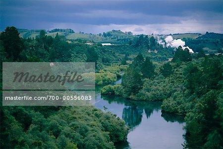 Landscape, Taupo Area, New Zealand