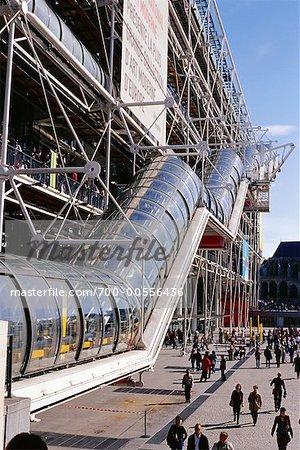 La Centre Pompidou, Paris, France