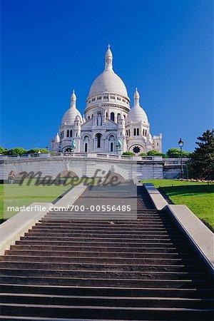 La Basilique du Sacré Coeur, Paris, France