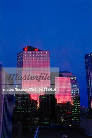 Tours de bureaux, Edmonton, Alberta, Canada