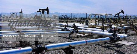 Oil Refinery, Taft, California, USA