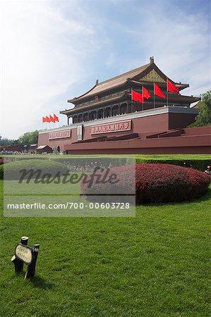 Entrée de la cité interdite, Pékin, Chine