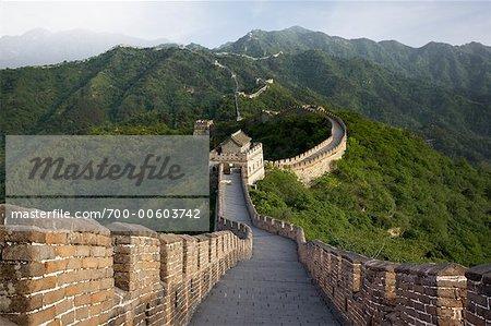 Grande muraille, Mutianyu, Chine