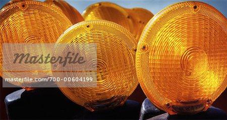Construction Warning Lights