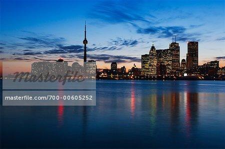 Skyline de Toronto, Ontario, Canada