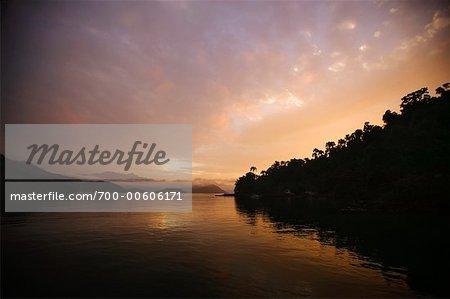 Sunrise on Ilha da Gipoia, Angra dos Reis, Rio de Janeiro, Brazil