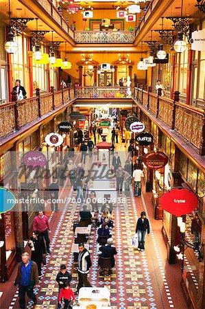 Le Strand Arcade, Sydney, New South Wales, Australie