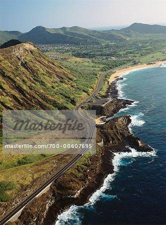 Kalanianaole Highway, Oahu, Hawaii, USA