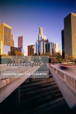 Viaduc, Los Angeles, Californie, USA