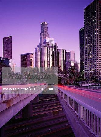 Los Angeles at Night, California, USA
