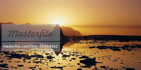 Jokulsarlon Glacial Lagoon, Breidamerkurjokull Glacier, Iceland