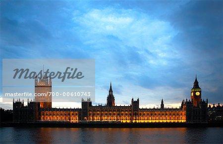 Chambre du Parlement, Londres, Angleterre