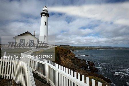 Pigeon Point Station phare, Pescadero, Californie, USA