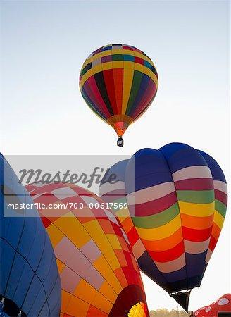 Hot Air Balloons, St. Jean, Quebec, Canada