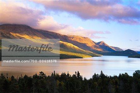 Trout River Pond, Gros Morne National Park, Newfoundland, Canada