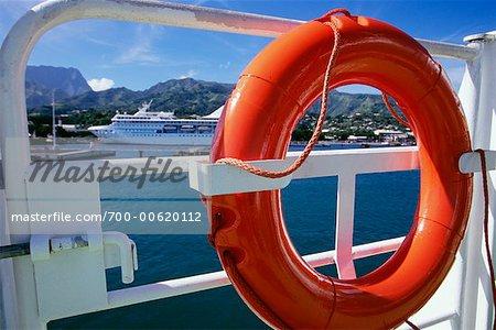 Life Preserver on Cruise Ship
