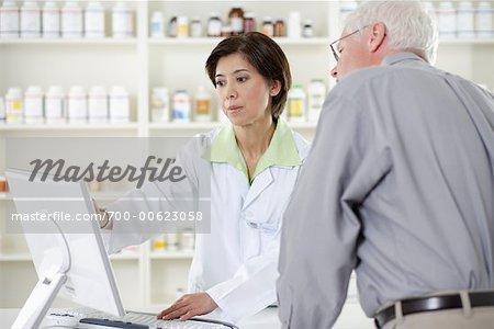 Client aide pharmacien