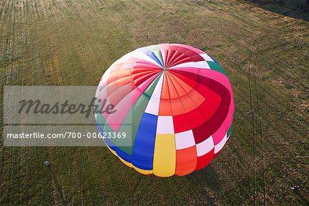Ballon à Air chaud, St Jean, Québec, Canada