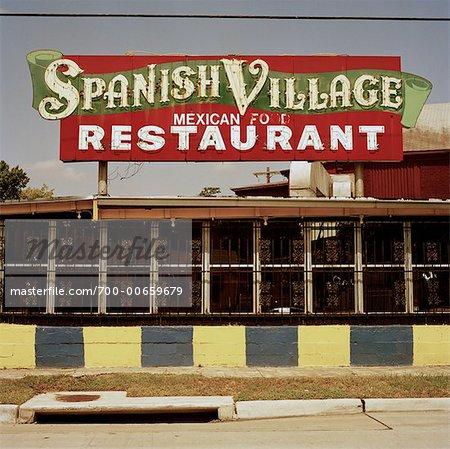 Restaurant Village Espagnol, Houston, Texas, USA