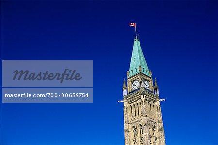 The Peace Tower, Parliament Hill, Ottawa, Ontario, Canada