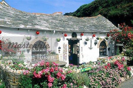 Cottage de Cornwall, en Angleterre, à Boscastle