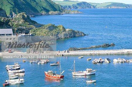 L'Angleterre, Cornwall, Mevagissey
