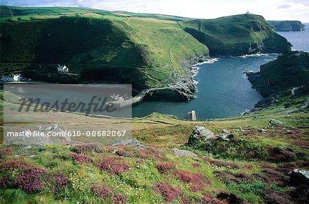 Boscastle Cornwall, en Angleterre,