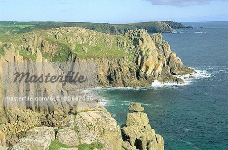 L'Angleterre, Cornwall, fin de la terre