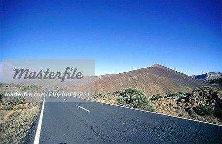 Espagne, Iles Canaries, Tenerife, volcan.