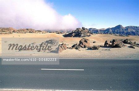 Espagne, Canaries, parc national de Teide.