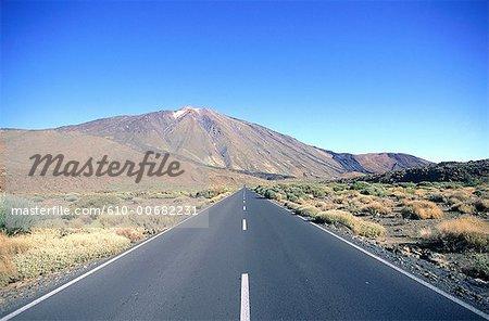Spain, Canary islands, Teide peak.