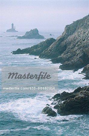 France, Brittany, Cape Sizun, Pointe du Raz