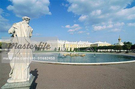 Russia, St Petersburg, Pedrovorets